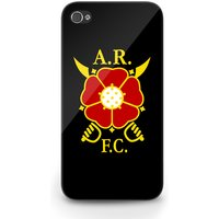 Albion Rovers Official iPhone 4 Cover (Black)