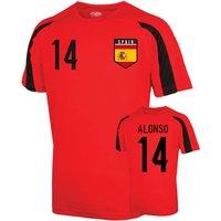 Spain Sports Training Jersey (alonso 14) - Kids