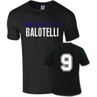 Mario Balotelli Front Name T-shirt (black)