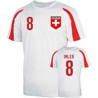 Switzerland Sports Training Jersey (inler 8)