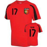 Portugal Sports Training Jersey (nani 17)