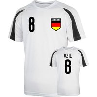Germany Sports Training Jersey (ozil 8)