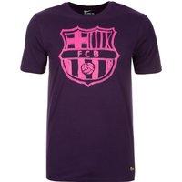 2016-2017 Barcelona Nike Crest Tee (Purple)