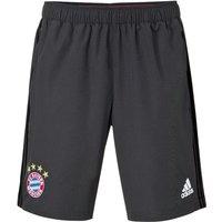 2016-2017 Bayern Munich Adidas Woven Shorts (Solid Grey)