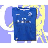 Chelsea Multi-Signed shirt 04-05