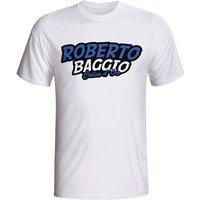 Roberto Baggio Comic Book T-shirt (white) - Kids