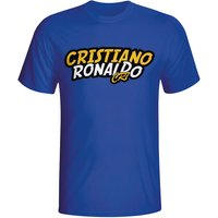 Cristiano Ronaldo Comic Book T-shirt (blue)