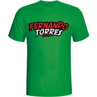 Fernando Torres Comic Book T-shirt (green) - Kids