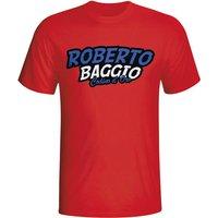 Roberto Baggio Comic Book T-shirt (red) - Kids