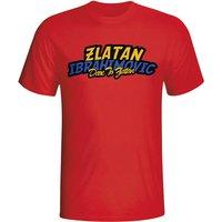 Zlatan Ibrahimovic Comic Book T-shirt (red)