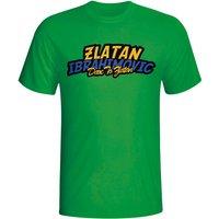 Zlatan Ibrahimovic Comic Book T-shirt (green) - Kids