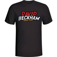 David Beckham Comic Book T-shirt (black)