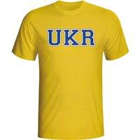 Ukraine Country Iso T-shirt (yellow) - Kids