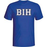 Bosnia Country Iso T-shirt (blue)