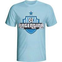 Argentina Country Logo T-shirt (sky Blue)