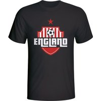 England Country Logo T-shirt (black) - Kids