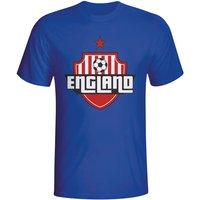 England Country Logo T-shirt (blue)