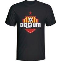 Belgium Country Logo T-shirt (black)