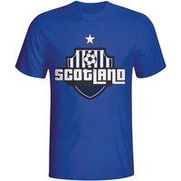 Scotland Country Logo T-shirt (blue) - Kids