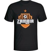 Zambia Country Logo T-shirt (black)