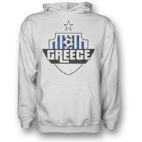 Greece Country Logo Hoody (white)