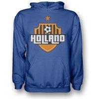 Holland Country Logo Hoody (blue) - Kids