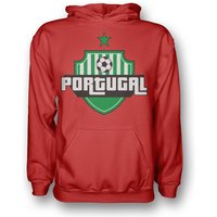 Portugal Country Logo Hoody (red)