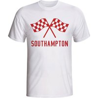 Southampton Waving Flags T-shirt (white) - Kids