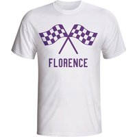 Fiorentina Waving Flags T-shirt (white)