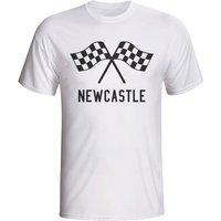Newcastle Waving Flags T-shirt (white)