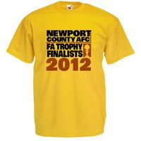 2012 Newport County FA Trophy Finalists T-Shirt