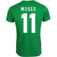 2013 Nigeria CAF Winners T-Shirt (Green) - Moses 11