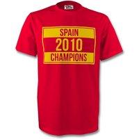 Spain 2010 Champions Tee (red) - Kids