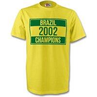 2002 Champions Tee (yellow)