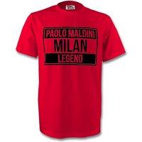 Paolo Maldini Ac Milan Legend Tee (red)