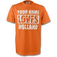 Image of Your Name Loves Holland T-shirt (orange)