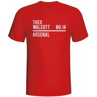 Theo Walcott Arsenal Squad T-shirt (red)