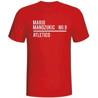 Mario Mandzukic Atletico Madrid Squad T-shirt (red)