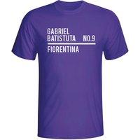 Gabriel Batistuta Fiorentina Squad T-shirt (purple)