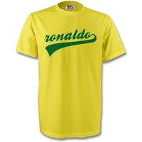 Ronaldo Brazil Signature Tee (yellow) - Kids