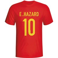 Eden Hazard Belgium Hero T-shirt (red)