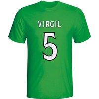 Virgin Van Dijk Celtic Hero T-shirt (green)