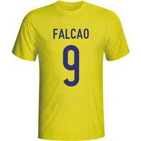 Radamel Falcao Colombia Hero T-shirt (yellow)