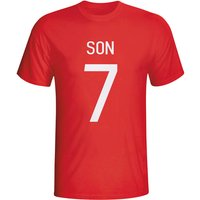 Son Heung-min South Korea Hero T-shirt (red) - Kids