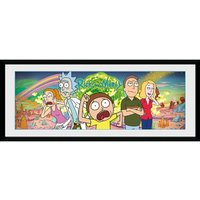 Rick And Morty Picture 30 x 12