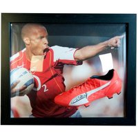 Arsenal F.C. Henry Signed Boot (Framed)
