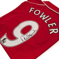 Liverpool F.C. Fowler Signed Shirt