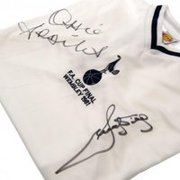 Tottenham Hotspur F.C. Ardiles & Villa Signed Shirt