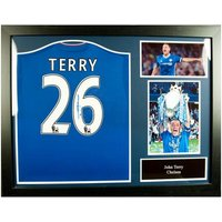 Chelsea F.C. Terry Signed Shirt (Framed)