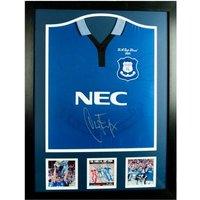 Everton F.C. Ferguson Signed Shirt (Framed)